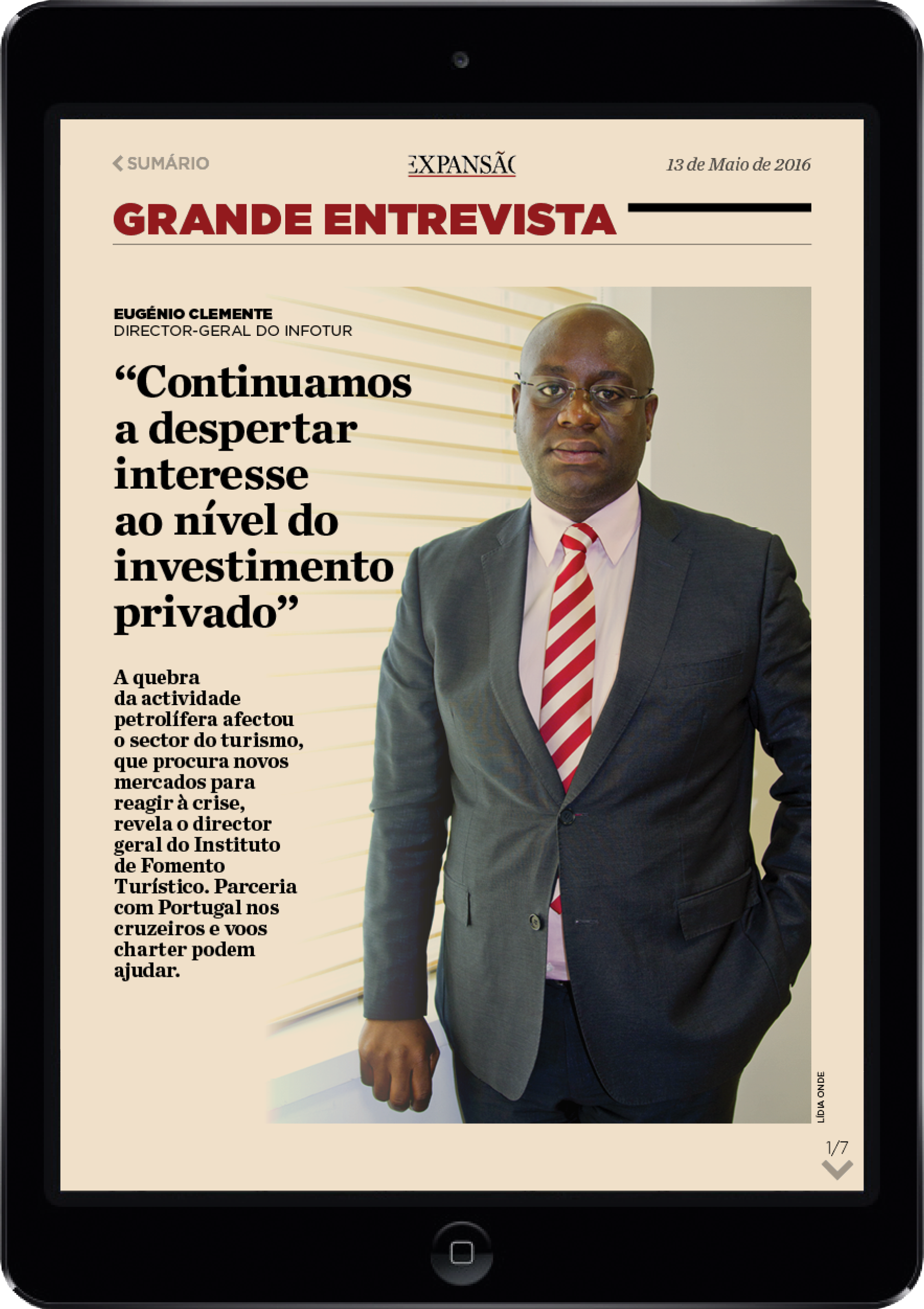Projecto tablet jornal Expansão – jribeiro