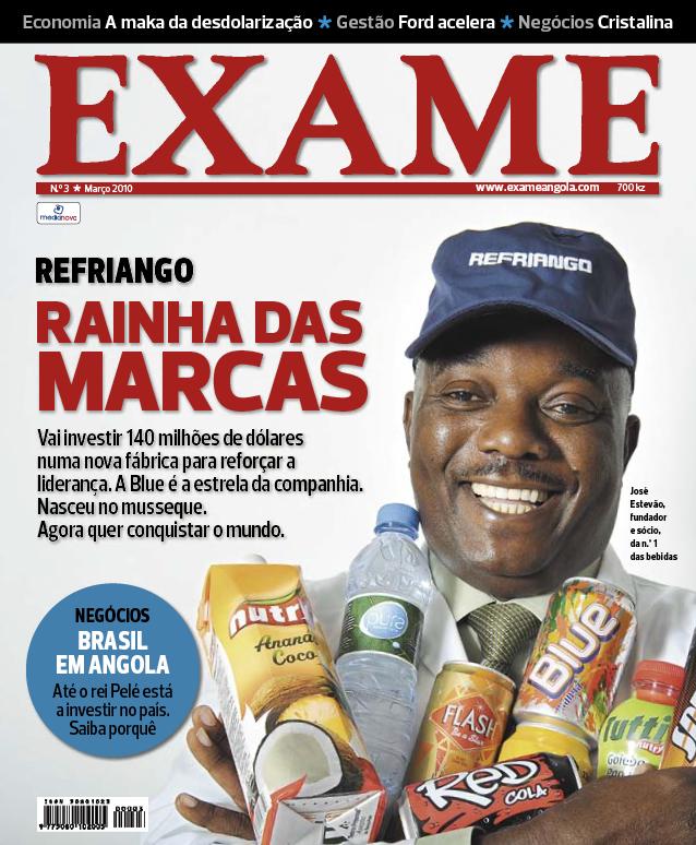 Exame Angola n.º 3 – março 2010