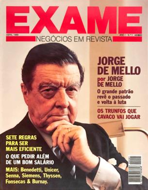 Exame n.º 1 – Abril 1989