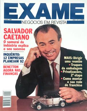 Exame n.º 3 – Junho 1989