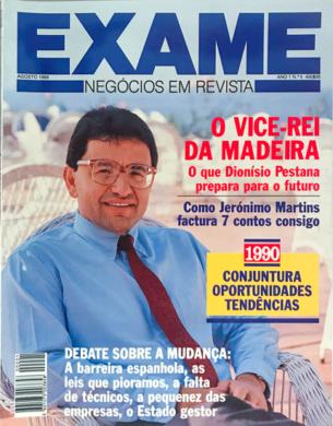 Exame n.º 5 – Agosto 1989