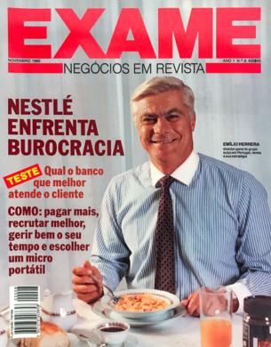 Exame n.º 8 – Novembro 1989
