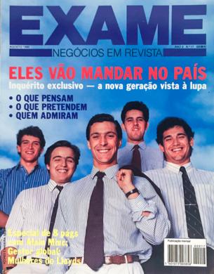 Exame n.º 17 – Agosto 1990