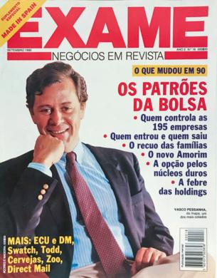 Exame n.º 18 – Setembro 1990