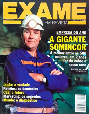 Exame n.º 20 – Novembro 1990
