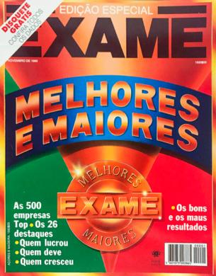 Exame Melhores & Maiores 90 – Novembro 1990