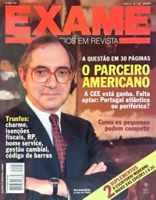 Exame n.º 26 – Maio 1991