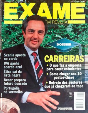 Exame n.º 29 – Agosto 1991