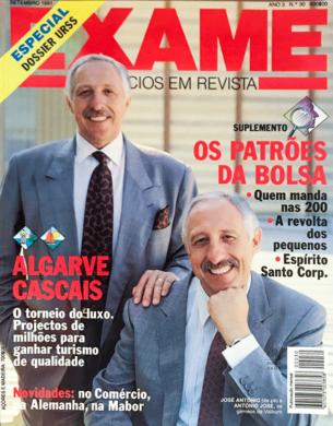 Exame n.º 30 – Setembro 1991