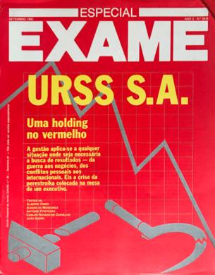 Exame n.º 30-B – Setembro 1991