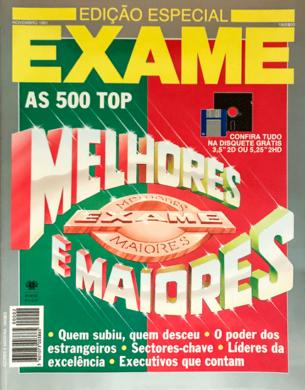 Exame Melhores & Maiores 91 – Novembro 1991