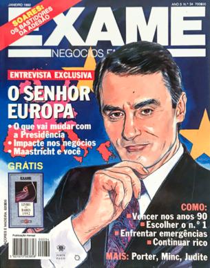 Exame n.º 34 – Janeiro 1992