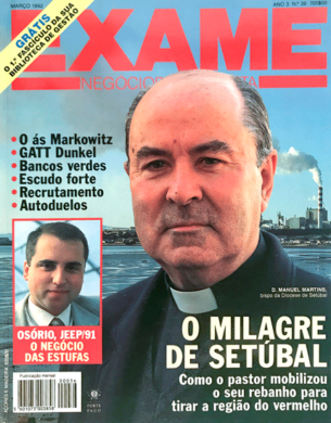 Exame n.º 36 – Março 1992