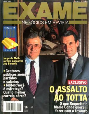 Exame n.º 37 – Abril 1992