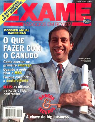 Exame n.º 41 – Agosto 1992