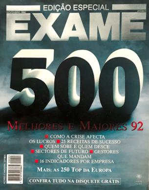 Exame Melhores & Maiores 92 – Novembro 1992