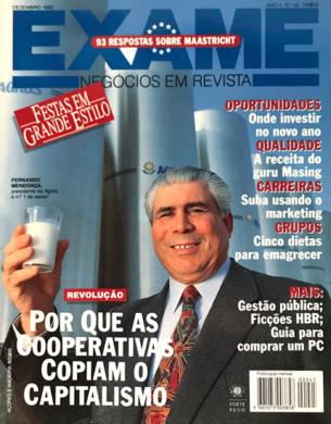 Exame n.º 45 – Dezembro 1992