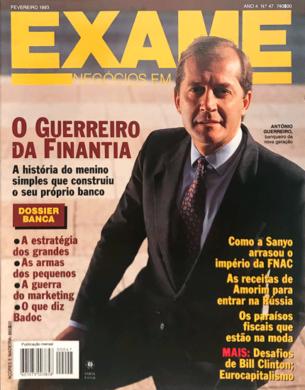 Exame n.º 47 – Fevereiro 1993