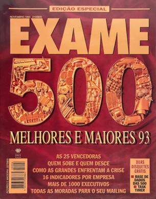 Exame Melhores & Maiores 93 – Novembro 1993
