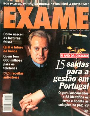 Exame n.º 58 – Janeiro 1994