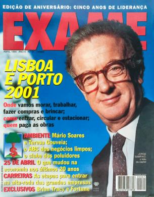 Exame n.º 61 (Lisboa) – Abril 1994