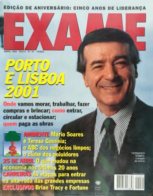 Exame n.º 61 (Porto) – Abril 1994