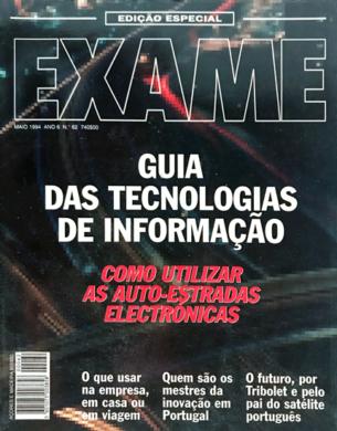 Exame n.º 62 – Guia das Tecnologias de Informação – Maio 1994