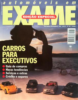 Exame n.º 69 – Automóveis em Exame – Outubro/Novembro 1994