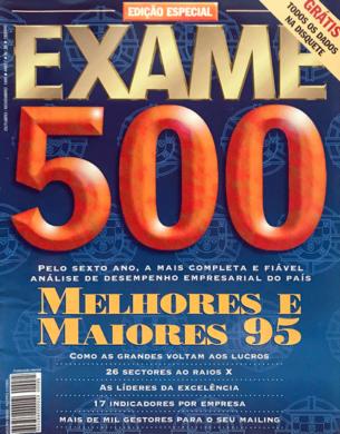 Exame n.º 85 – Melhores & Maiores 95 – Novembro 1995
