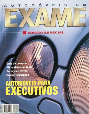 Exame n.º 88 – Automóveis em Exame – Novembro/Dezembro 1995