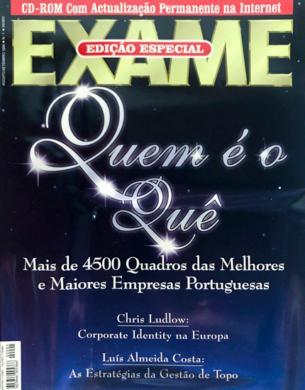 Exame – Quem é o Quê n.º 1 – Agosto/Setembro 1996