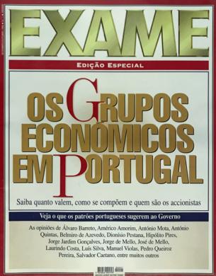 Exame – Grupos Económicos n.º 1 – Setembro/Outubro 1996