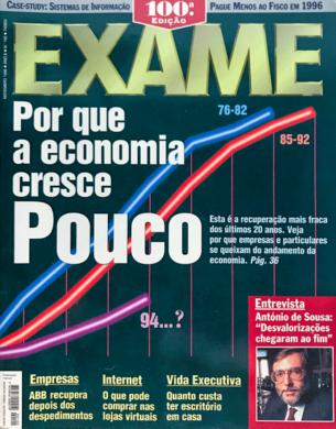 Exame n.º 100 – Novembro 1996