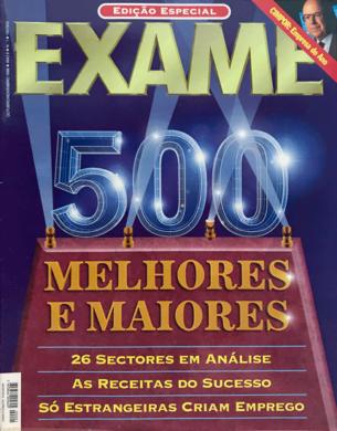 Exame – Melhores & Maiores n.º 1 – Outubro/Novembro 1996