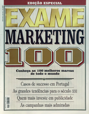 Exame – Marketing 100 n.º 1 – Abril/Maio 1997