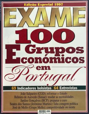 Exame – Grupos Económicos n.º 2 – Julho/Agosto 1996