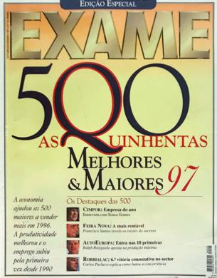Exame – Melhores & Maiores n.º 2 – Outubro/Novembro 1997