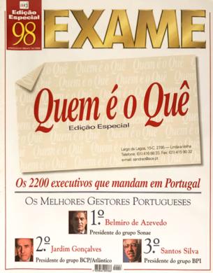 Exame – Quem é o Quê n.º 3 – Junho/Julho 1998