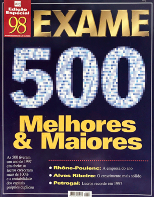 Exame – Melhores & Maiores n.º 3 – Outubro/Novembro 1998