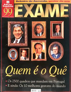 Exame – Quem é o Quê n.º 4 – Junho/Julho 1999