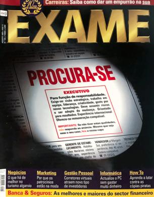 Exame n.º 133 – Agosto 1999