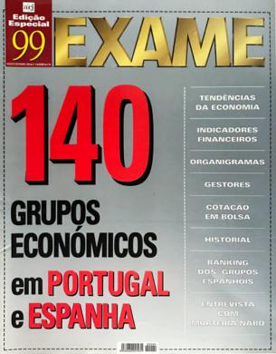 Exame – Grupos Económicos n.º 4 – Agosto/Setembro 1999