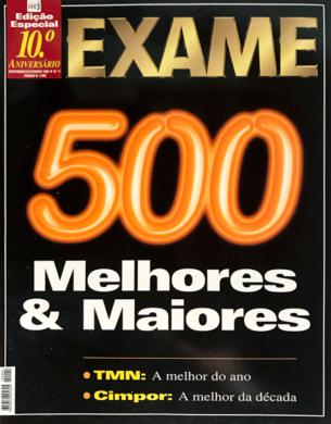 Exame – Melhores & Maiores n.º 4 – Novembro/Dezembro 1999