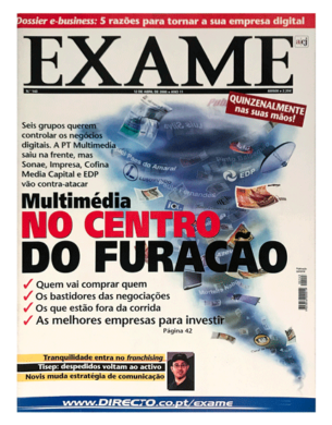 Exame n.º 143 – 12 abril 2000