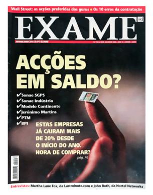 Exame n.º 150 – 19 julho 2000