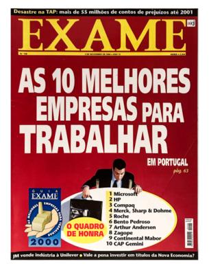Exame n.º 158 – 2 novembro 2000