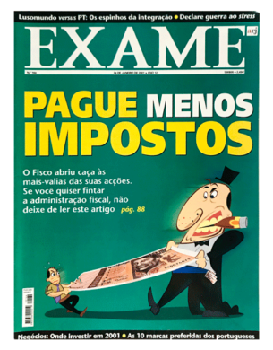 Exame n.º 164 – 24 janeiro 2001
