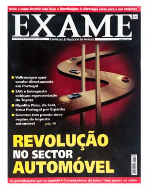 Exame n.º 176 – 11 julho 2001