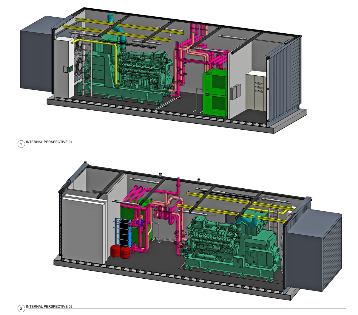 PM POWER has a full in-house engineering and design team to install gas & diesel generators