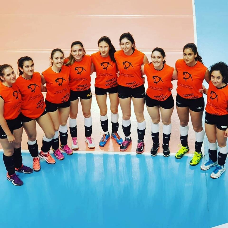 turkey volleyball camp in Istanbul with Ali Pecen.